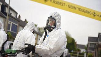 Risico's asbest overschat, 'maar blijft gevaarlijk'