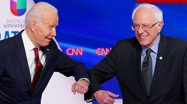 Biden gaat het opnemen tegen Trump, Sanders verlaat de race