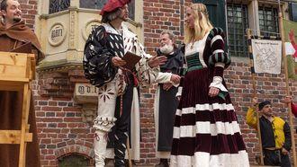 Vlaardingen geeft twee middeleeuwse huwelijken weg. / Middeleeuws Ter Apel -Vlaardingen 1018