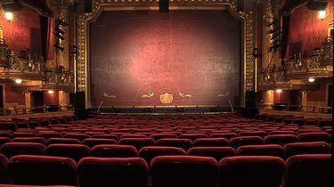 Een bioscoopzaal.