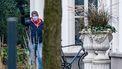 Premier Mark Rutte komt aan bij het Catshuis.