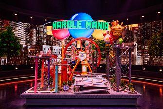 Een foto van de knikkerbaan Lunapark in Marble Mania