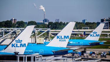 Foto van KLM