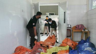 Jakarta brand gevangenis