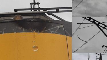 Reizigers zitten uren vast in trein