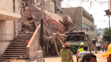 20 september: Mexico getroffen door aardbeving