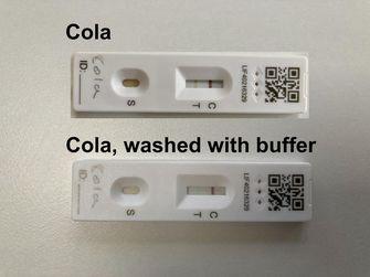 valse positieve coronatest cola