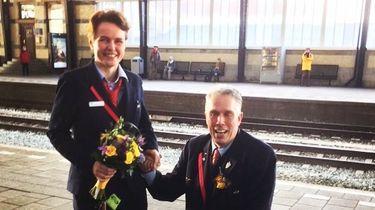 Liefde op het station: huwelijksaanzoek NS-collega's