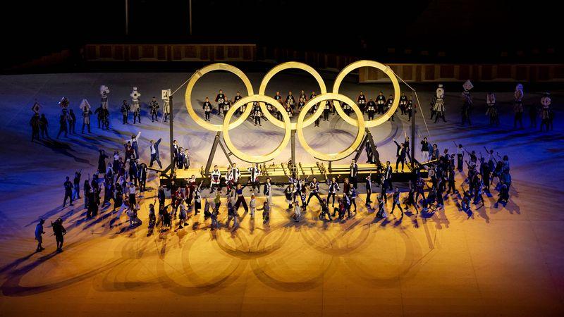Zo verliep de openingsceremonie van de Olympische Spelen