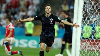 Kroatië speelt tegen Engeland in 2e halve finale WK