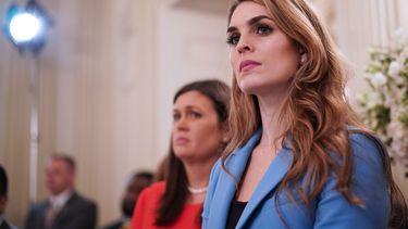 Hope Hicks vertrekt uit het Witte Huis