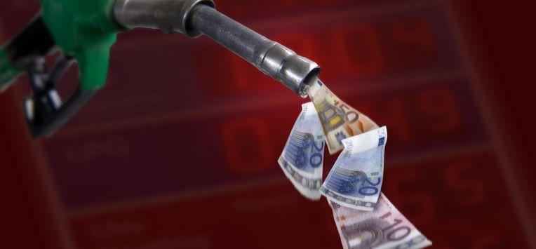 benzineprijs diesel tanken