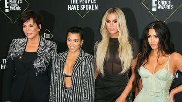 The Kardashians op een rode loper