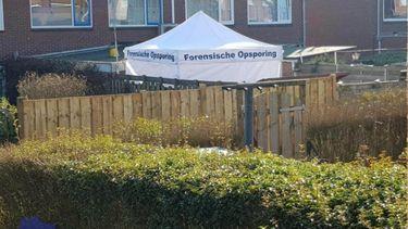Politie vindt dode baby in achtertuin in Gelderse 's-Heerenberg