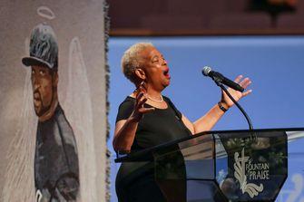 Een preek van Dr. Mary White tijdens de begrafenisdienst van George Floyd
