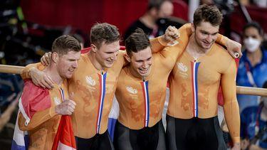 Olympische Spelen Tokio baanwielrennen goud