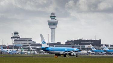 De verkeerstoren op Schiphol. Foto: ANP