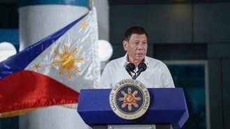 Rodrigo Duterte mondkapje Filipijnen