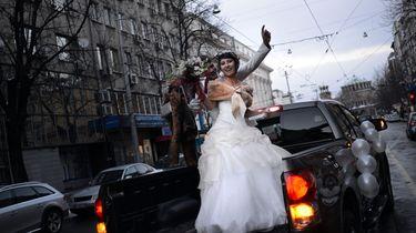 Boete voor toeterende bruidsttoet