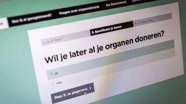 Duizenden mensen laten een 'nee' registreren. / ANP