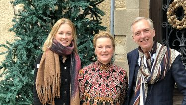 Een foto van de familie Meiland