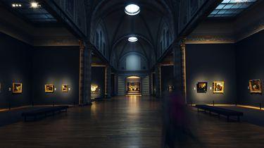 Opgesloten in het Rijksmuseum