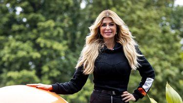 Een foto van Estelle Cruijff die nu in Dubai verblijft