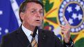 Een foto van Jair Bolsonaro.