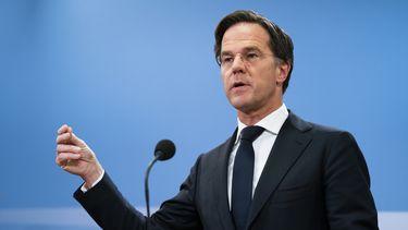 Dit zei Rutte allemaal tijdens persconferentie na aftreden van kabinet