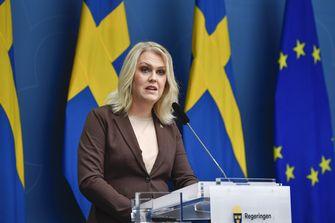 Een foto van de gezondheidsminister van Zweden