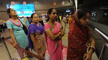 Vrouwen in India mogen mes mee in openbaar vervoer