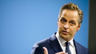 Op deze foto zie je vicepremier Hugo de Jonge.