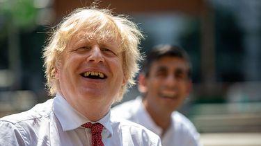 Foto van Boris Johnson