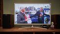 Een foto van burgemeester Matthijs van Nieuwkerk in het Sinterklaasjournaal
