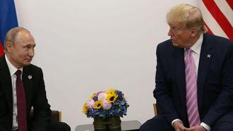 President Putin (Rusland) en president Trump (VS)