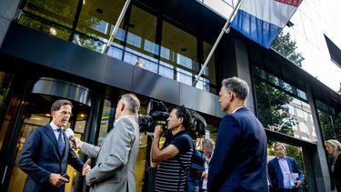 Foto van Rutte na EU-top
