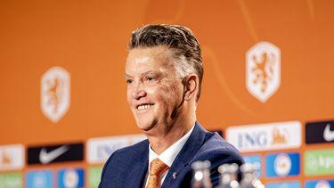Louis van Gaal bondscoach Nederlands Elftal