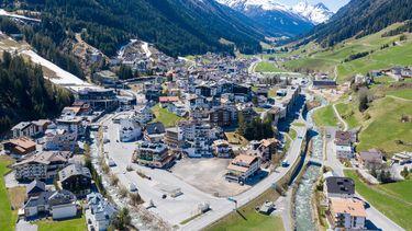 Een foto van de plaats Ischgl in Oostenrijk