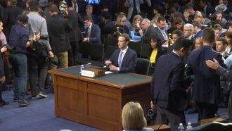 11 april - Hoorzitting Mark Zuckerberg begonnen