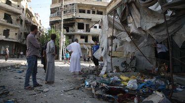 Zeker 23 mensen omgekomen bij luchtaanval Syrië