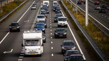 Grote drukte richting de Belgische grens