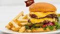 Hard Rock Cafe hamburger