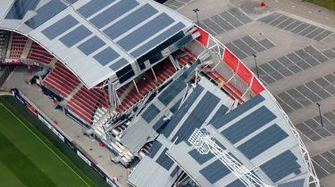 Het dak van het AZ-stadion kan verder instorten