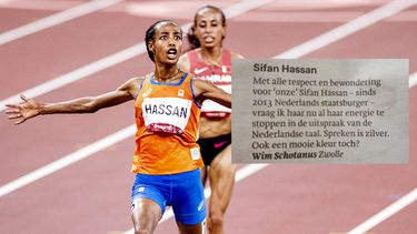 Sifan Hassan, Trouw