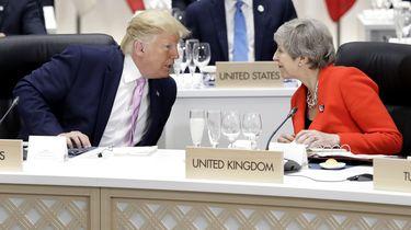 Trump: wat een zooitje heeft May ervan gemaakt