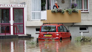 wateroverlast Valkenburg Limburg
