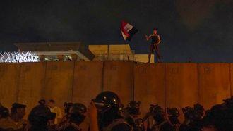 Ambassadeur VS in Bagdad geëvacueerd tijdens protesten