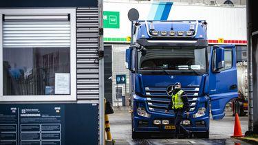 foto van vrachtwagen
