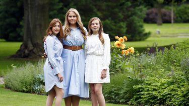 foto van de drie prinsessen