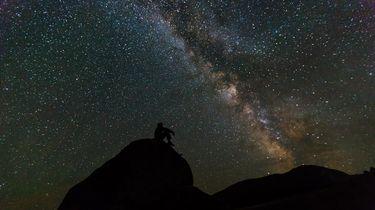 Deze nacht kun je veel vallende sterren spotten. Foto: Pixabay